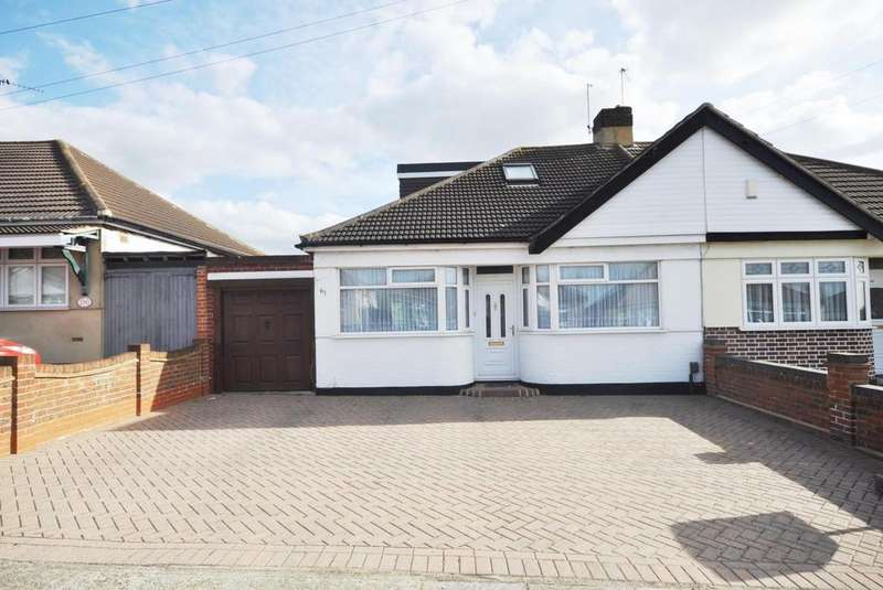 3 Bedrooms Semi Detached House for sale in Dorian Road, Hornchurch, Essex, RM12