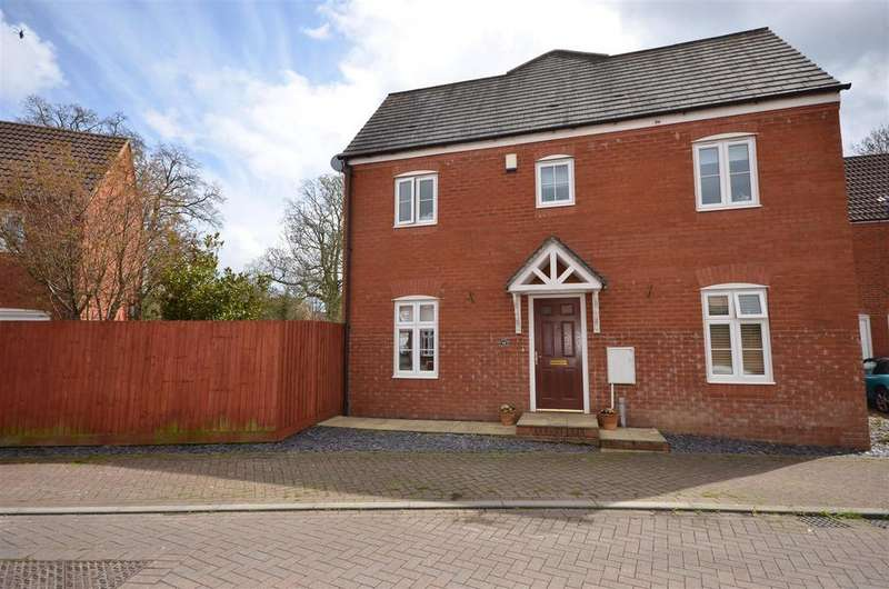 3 Bedrooms Semi Detached House for sale in Burge Crescent, Cotford St. Luke, Taunton