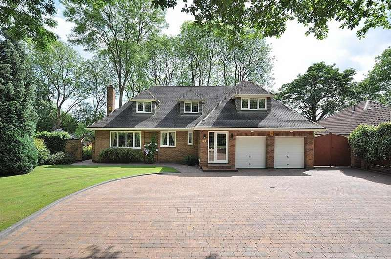4 Bedrooms Detached House for sale in Kings Lodge Drive, Mansfield