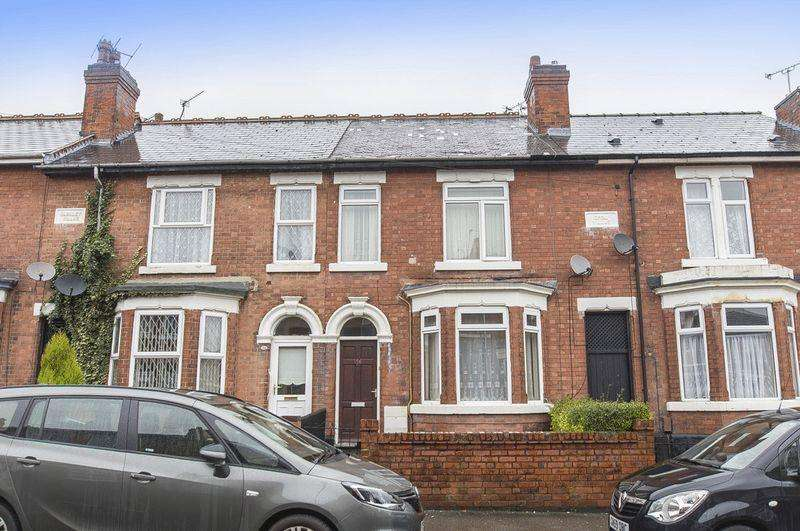 3 Bedrooms Terraced House for sale in CLARENCE ROAD, DERBY