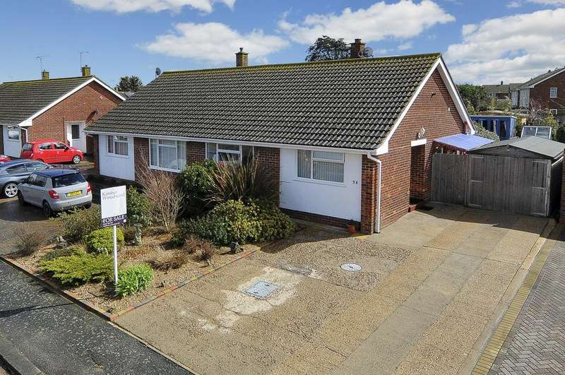 2 Bedrooms Semi Detached Bungalow for sale in Windmill Road, Herne, Herne Bay, Kent