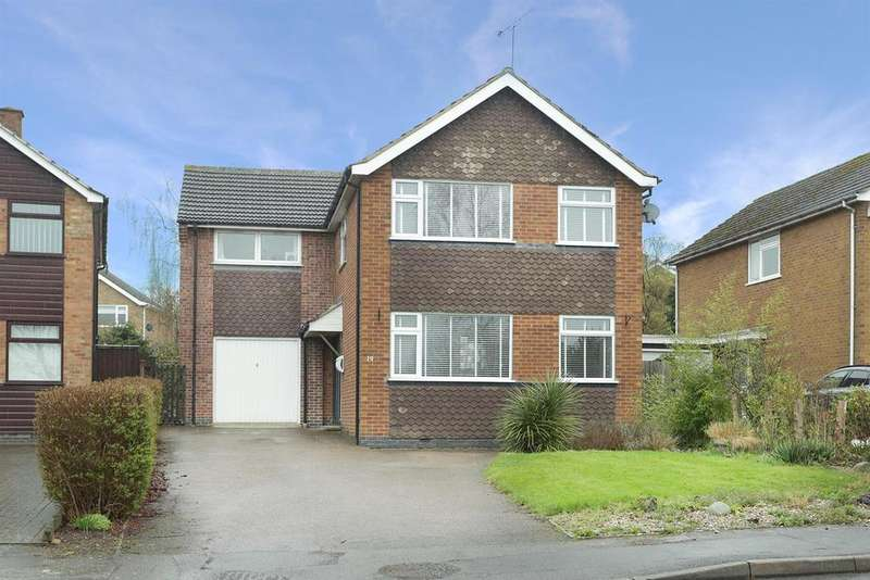4 Bedrooms Detached House for sale in Woodbury Rise, Great Glen, Leicester
