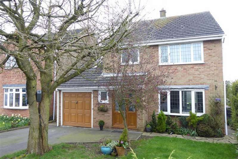 4 Bedrooms Detached House for sale in Sharpes Close, Thornton