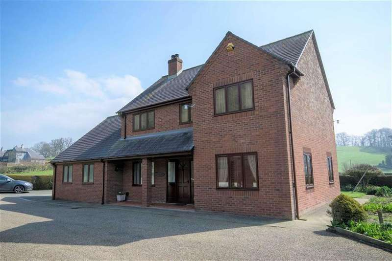 4 Bedrooms Detached House for sale in Fron, Montgomery, SY15