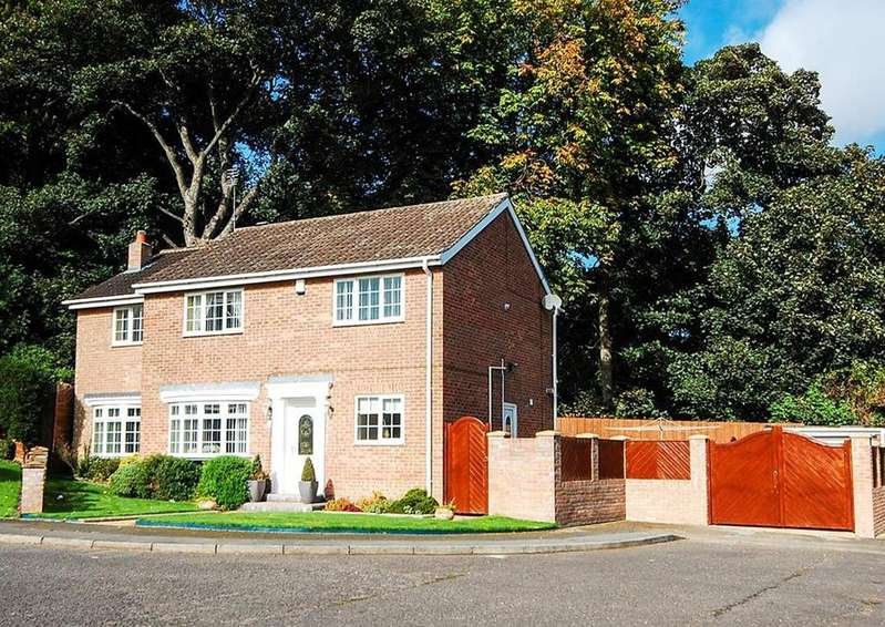 4 Bedrooms Detached House for sale in Vicarsholme Close, Chapelgarth, Sunderland