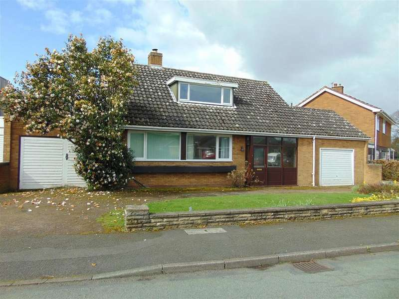 3 Bedrooms Detached Bungalow for sale in Stafford Close, Bloxwich