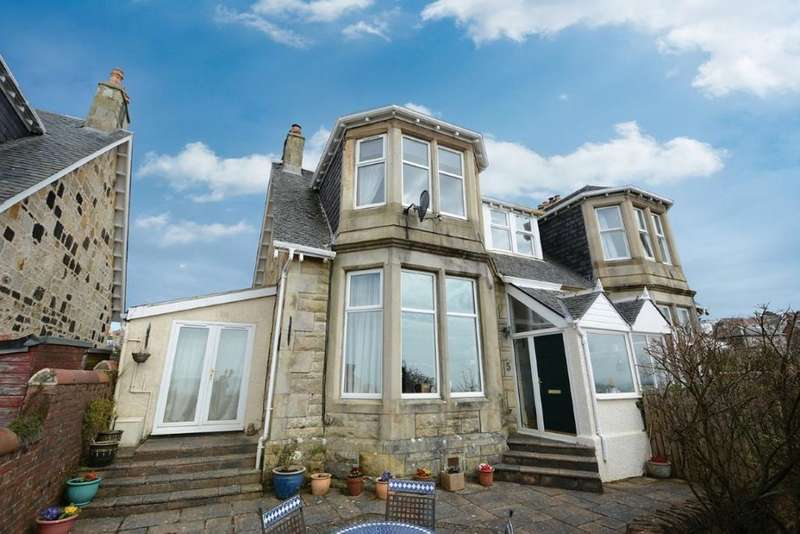 4 Bedrooms Semi Detached House for sale in 5 Fullerton Drive, Seamill, KA23 9HS