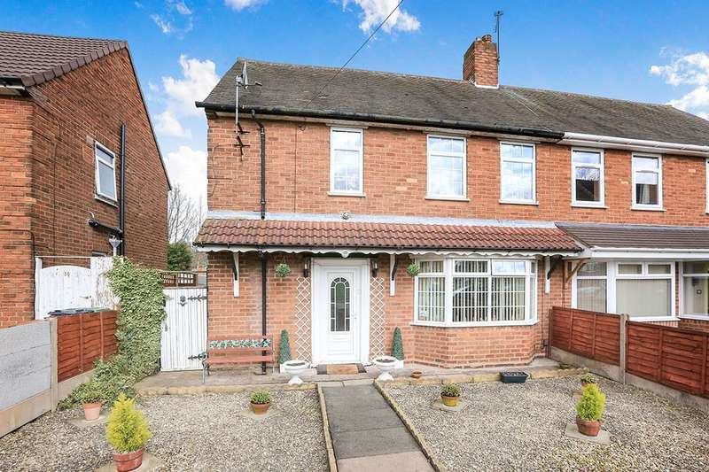 3 Bedrooms Semi Detached House for sale in Jones Road, Willenhall, WV12