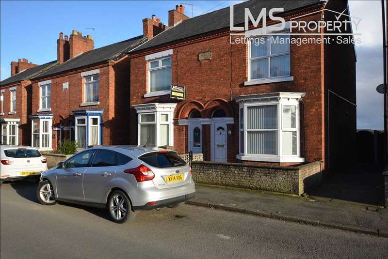 3 Bedrooms Semi Detached House for sale in Gladstone Street, Winsford
