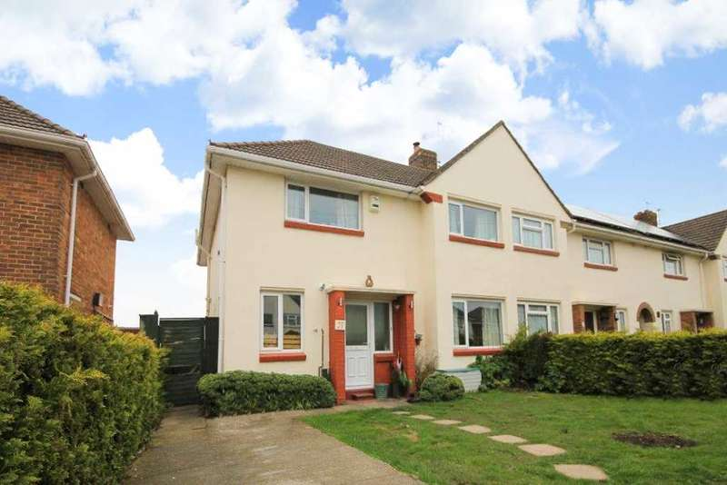 4 Bedrooms Semi Detached House for sale in St Helier Road, Poole