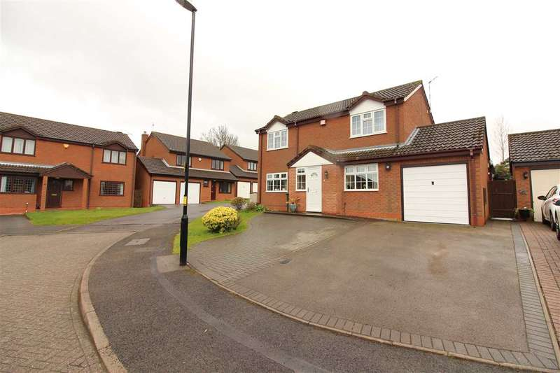 4 Bedrooms Detached House for sale in Cherrywood Grove, Allesley, Coventry