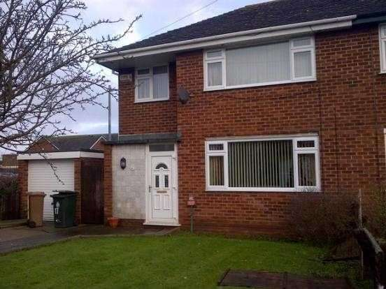 3 Bedrooms Semi Detached House for rent in Randle Meadow, Great Sutton, Ellesmere Port