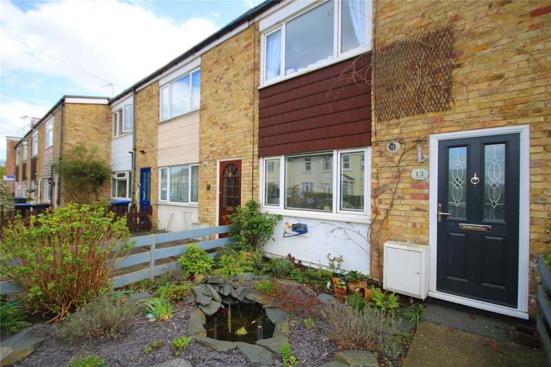 3 Bedrooms Terraced House for sale in Prairie Road, Addlestone, Surrey, KT15