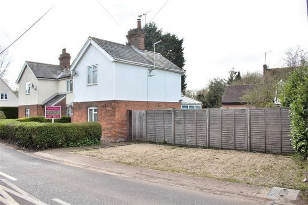 3 Bedrooms Semi Detached House for sale in Church End, Shalford, Essex