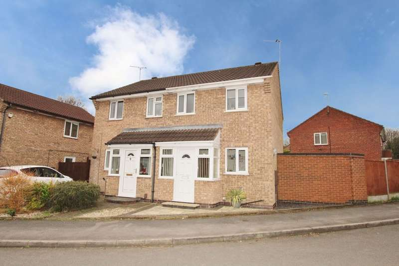 2 Bedrooms Semi Detached House for sale in Denholme Road, Wollaton, Nottingham, NG8