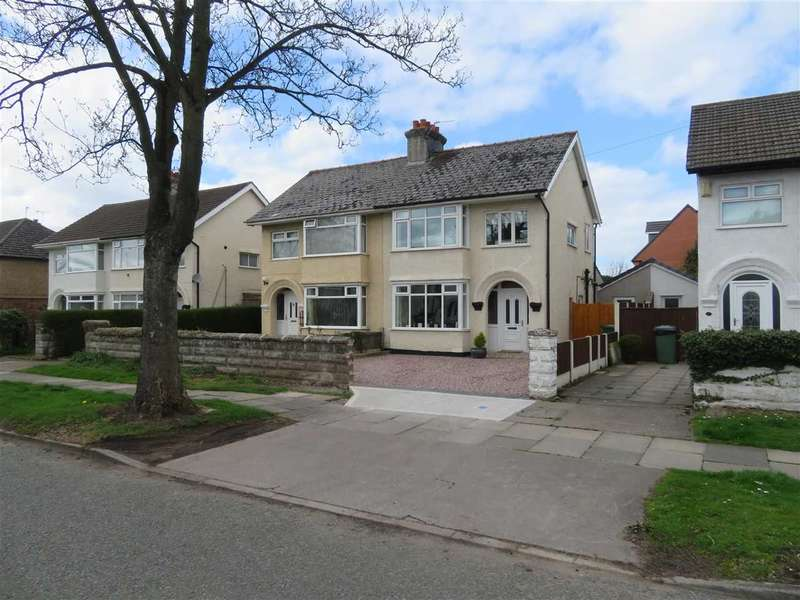 3 Bedrooms Semi Detached House for sale in Heygarth Road, Eastham