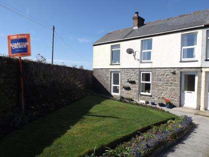 3 Bedrooms Terraced House for sale in Troon, Camborne, Cornwall