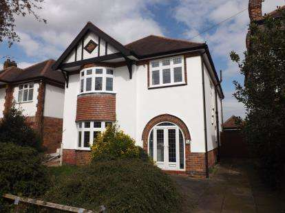 4 Bedrooms Detached House for sale in Glenmore Road, West Bridgford, Nottingham, Nottinghamshire