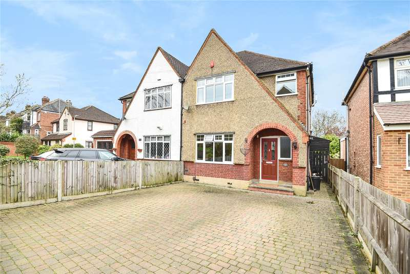 4 Bedrooms Semi Detached House for sale in Harefield Road, Uxbridge, Middlesex, UB8