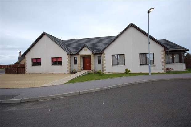 4 Bedrooms Detached Bungalow for sale in Steading View, Lossiemouth