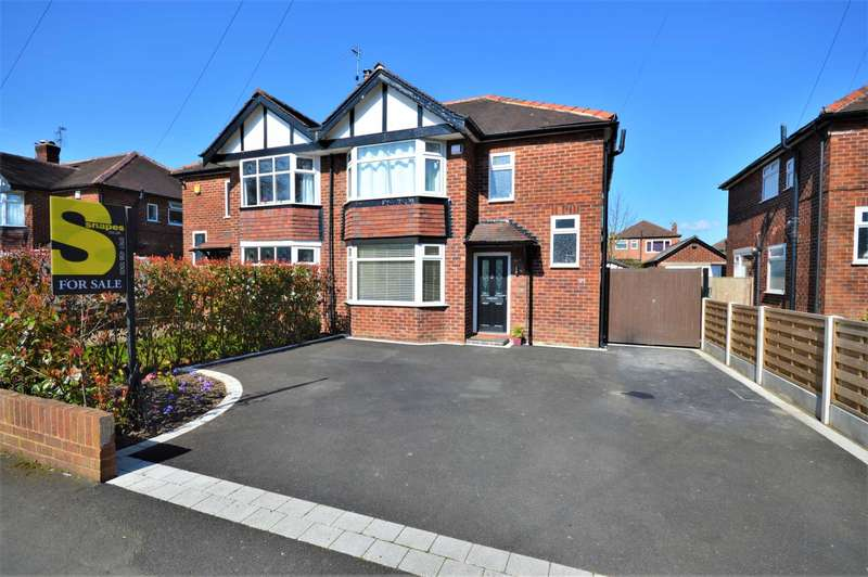 3 Bedrooms Semi Detached House for sale in Cavendish Road, Hazel Grove