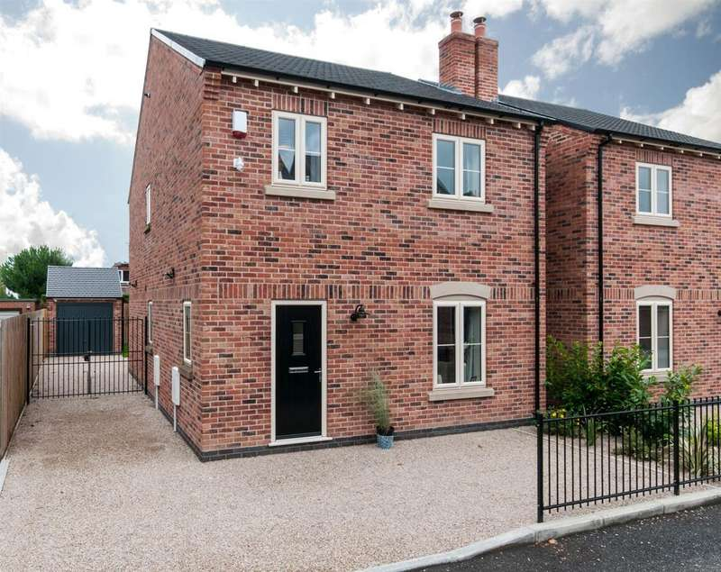 3 Bedrooms Detached House for sale in Cornwall Drive, Long Eaton