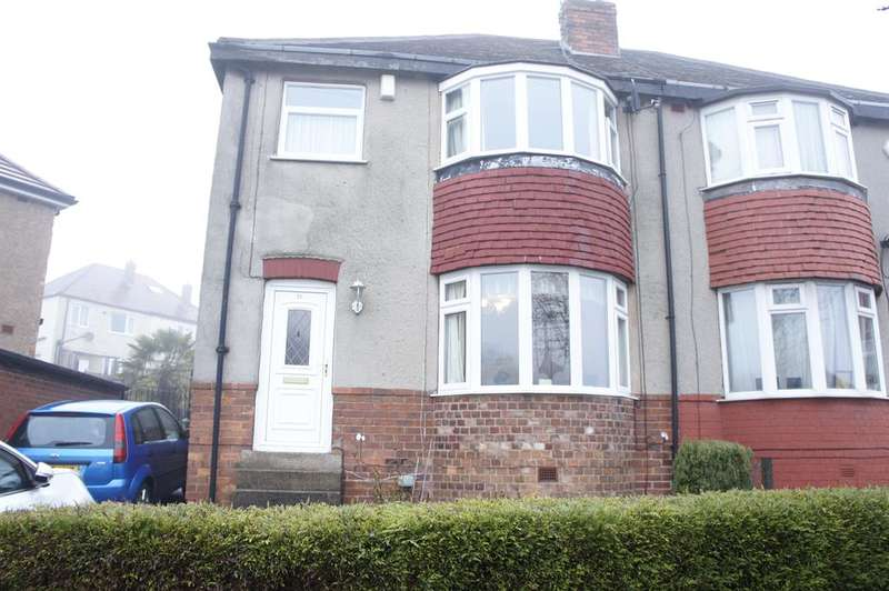 3 Bedrooms Semi Detached House for sale in Charnock Dale Road, Sheffield, S12 3HP