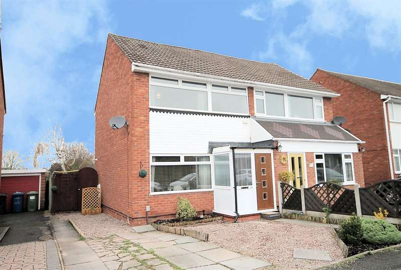 3 Bedrooms Semi Detached House for sale in Torc Avenue, Tamworth, B77 3EP