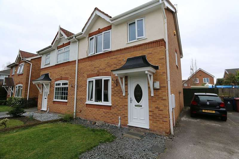 3 Bedrooms Semi Detached House for sale in 15, 15 Heywood Gardens, Whiston, PRESCOT, Merseyside, L35 3xd