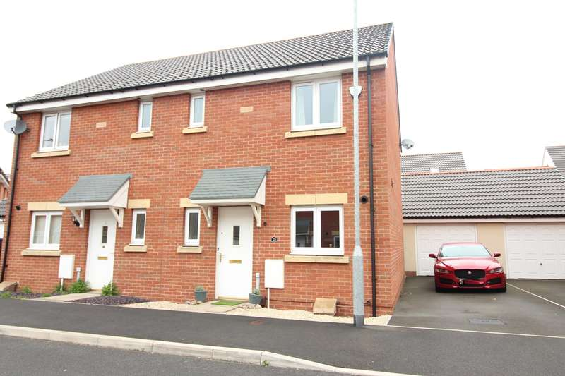3 Bedrooms Semi Detached House for sale in Bloomery Circle, Newport, NP19