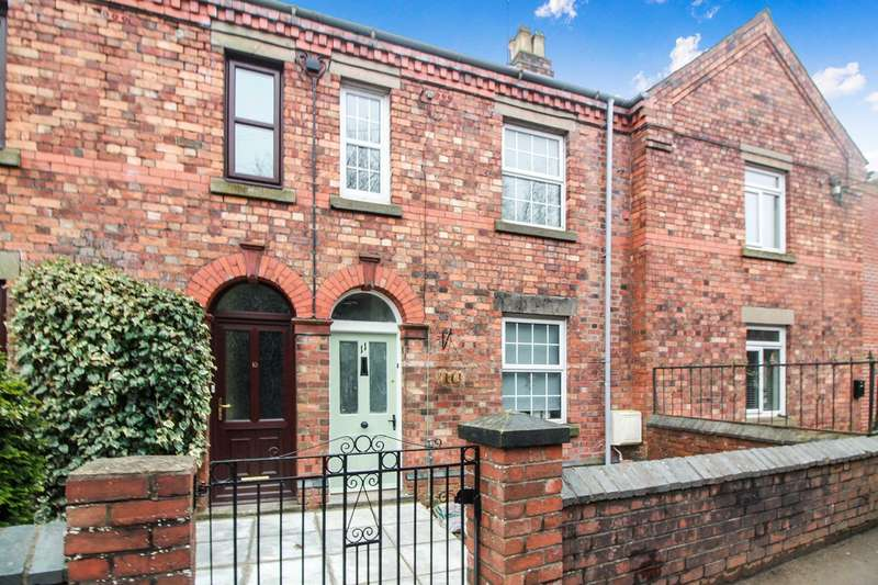 2 Bedrooms Terraced House for sale in New Junction Cottages, ABERGAVENNY, NP7