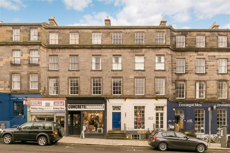 3 Bedrooms Flat for sale in 52 (3F3) Broughton Street, Edinburgh, EH1 3SA