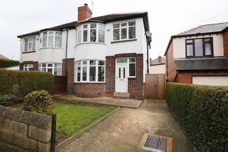 3 Bedrooms Semi Detached House for rent in Daleview Road, Beauchief