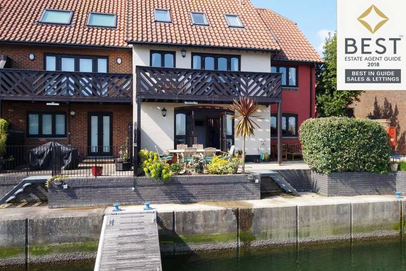 5 Bedrooms End Of Terrace House for sale in Hythe Marina Village, Hythe