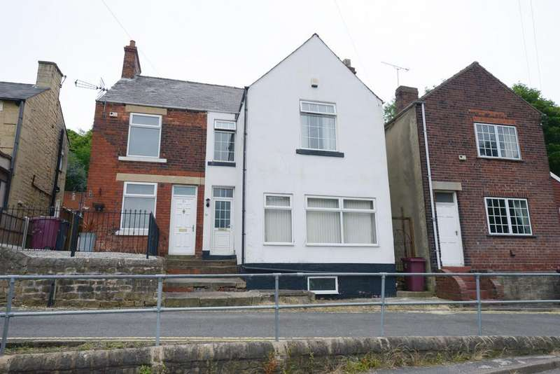 3 Bedrooms Semi Detached House for sale in Bolsover Hill, Bolsover