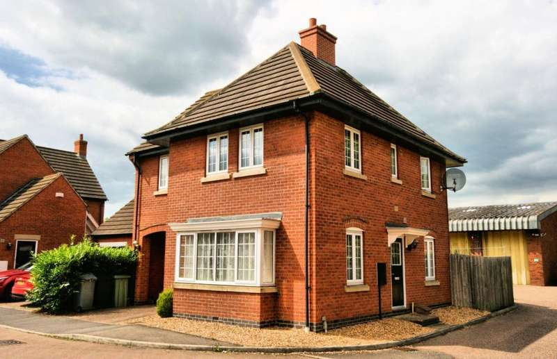 4 Bedrooms Detached House for sale in Holloway Avenue, Bourne, Lincolnshire, PE10