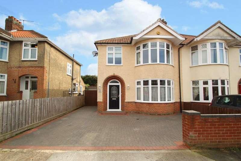 3 Bedrooms Semi Detached House for sale in Halliwell Road, Ipswich, IP4