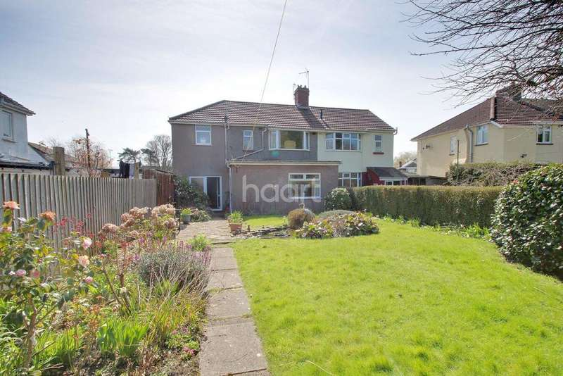 3 Bedrooms Semi Detached House for sale in Park Crescent, Newport, NP20