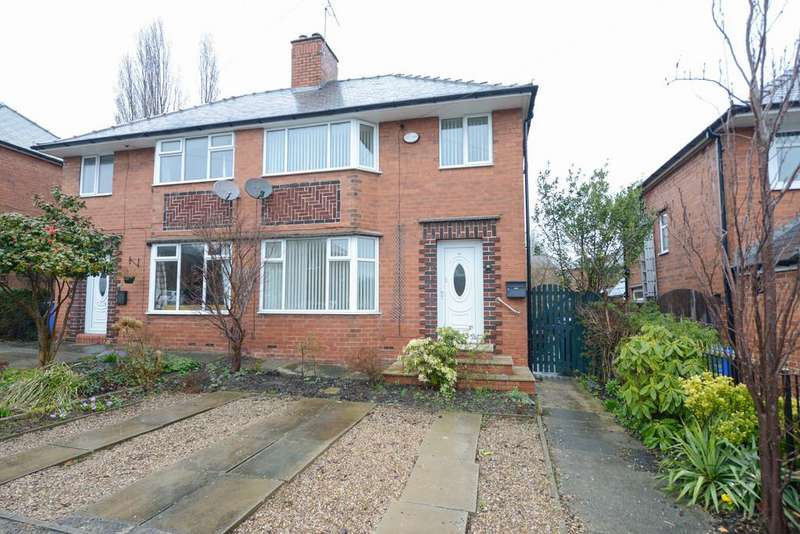 3 Bedrooms Semi Detached House for sale in Highbury Road, Chesterfield