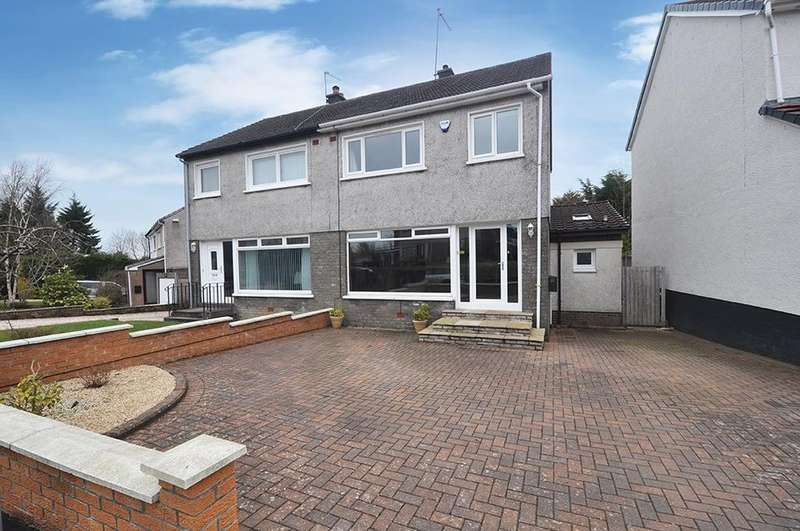 3 Bedrooms Semi-detached Villa House for sale in Lambie Crescent, Newton Mearns, Glasgow, G77
