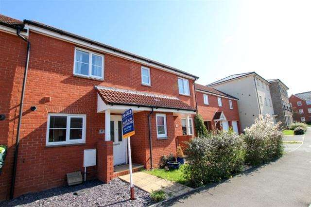 2 Bedrooms Terraced House for sale in Teeswater Walk, Bridgwater