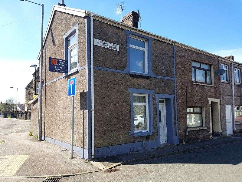 2 Bedrooms End Of Terrace House for sale in Bevan Street, Aberavon, Port Talbot, Neath Port Talbot. SA12 6ND
