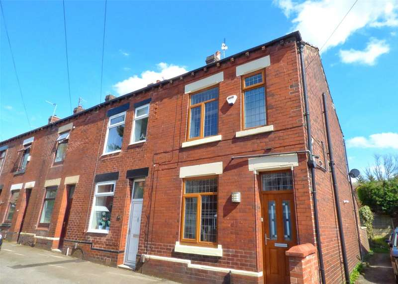 2 Bedrooms End Of Terrace House for sale in Fir Lane, Royton, Oldham, Greater Manchester, OL2
