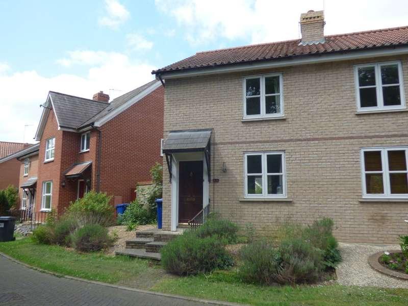 3 Bedrooms Semi Detached House for sale in Rockingham Road, Bury St Edmunds IP33