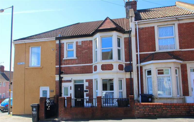 2 Bedrooms Terraced House for sale in Aubrey Road The Chessels Bristol BS3