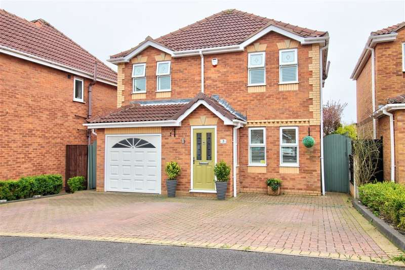 4 Bedrooms Detached House for sale in Kensington Avenue, Heanor