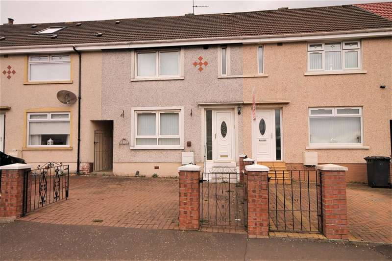 2 Bedrooms Terraced House for sale in Woodhall Place, Kirkshaws, Coatbridge