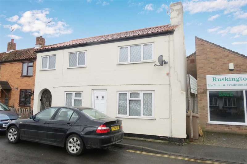 2 Bedrooms End Of Terrace House for sale in Church Street, Ruskington