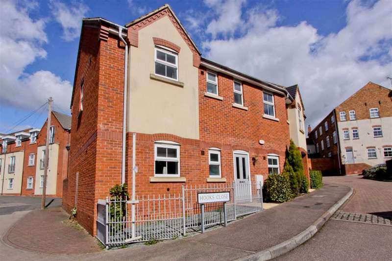 2 Bedrooms Apartment Flat for sale in Hooks Close, Anstey, Leicester