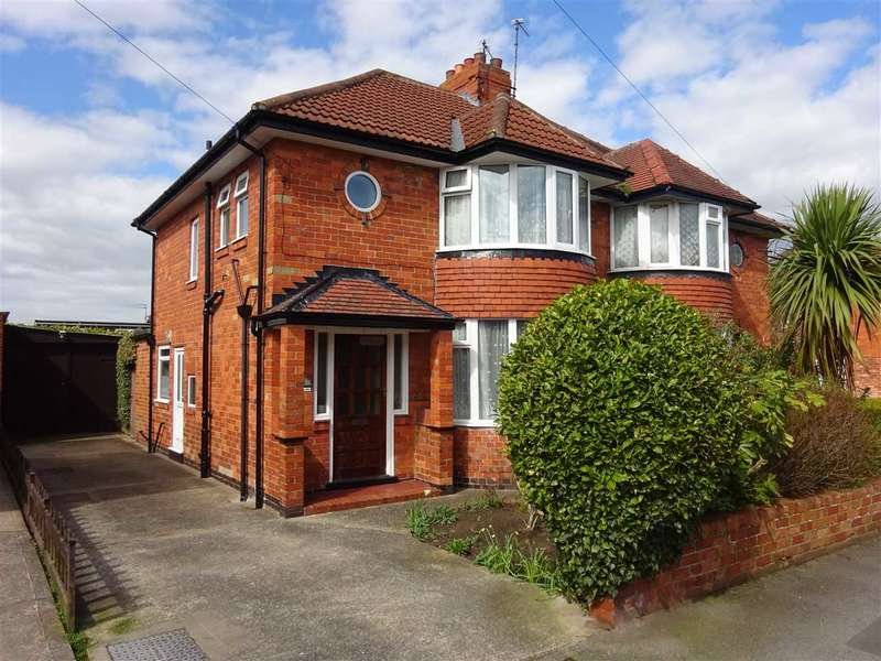 3 Bedrooms Semi Detached House for sale in Southolme Drive, Rawcliffe, York